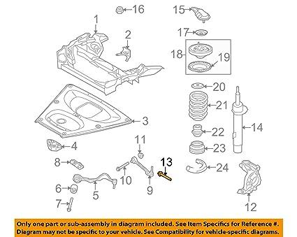 Amazon com: Wheel Hub Bolt Genuine 31126760203 BMW 1 Series