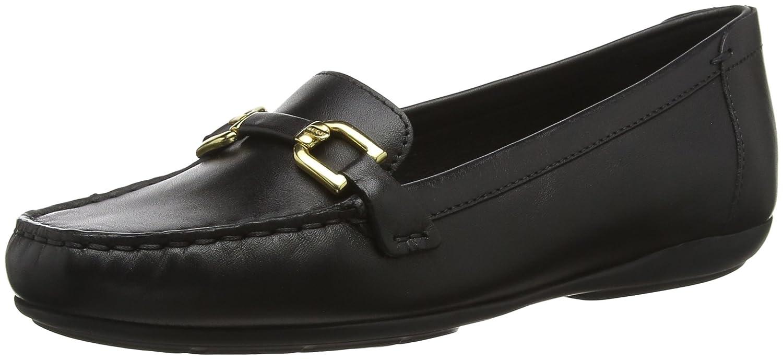 Geox D Annytah MOC A, Mocassins (Loafers) Annytah Femme Noir Noir A, (Black C9999) 30e8641 - piero.space