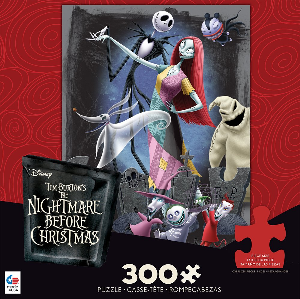Amazon.com: Ceaco Disney\'s Nightmare Before Christmas Puzzle ...