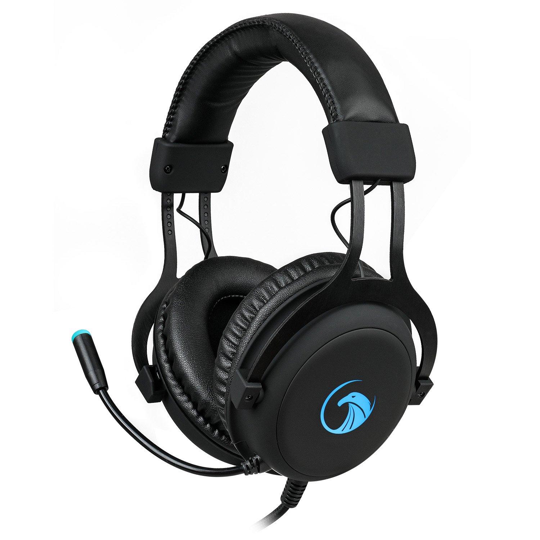 NPET S018 Pro Casque Gaming Micro Headset Son Surround 7.1 Driver 57mm avec USB pour Gaming PC Noir PengXuan E-commerce co. LTD