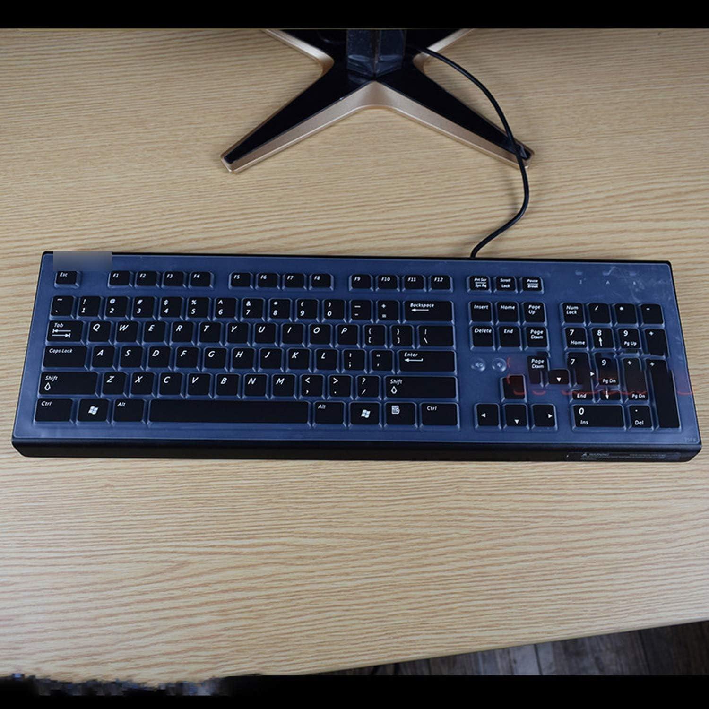 Desktop Pc Keyboard Covers Waterproof Dustproof Clear Keyboard Cover Protector Skin for Hp Compaq Acer Pr1101U-Clear