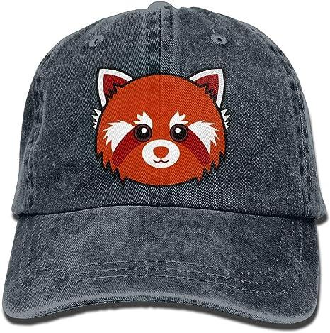 Wdskbg Panda Rojo de Dibujos Animados de Animales Unisex Lindo ...