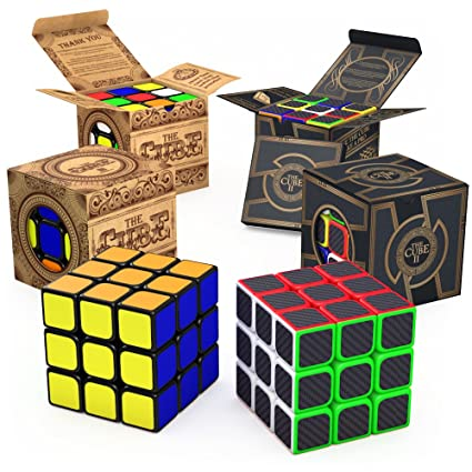 AGreatLife Speed Cube Brain Teaser Bundle Set Of Two Best Selling 3x3