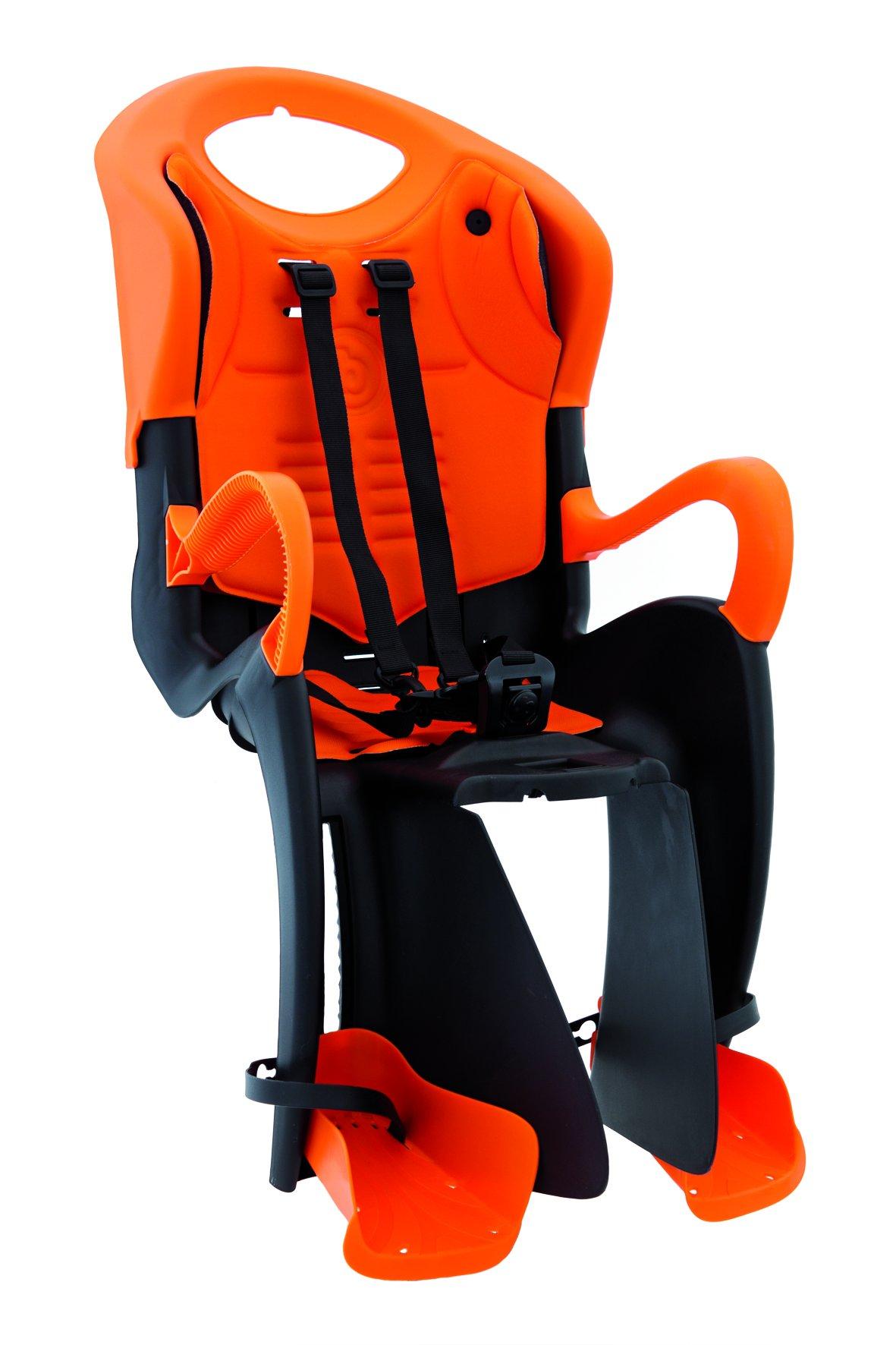 MammaCangura Tiger Standard - Rear Bike Child Seat - Italian Made with Certified Safety Standards