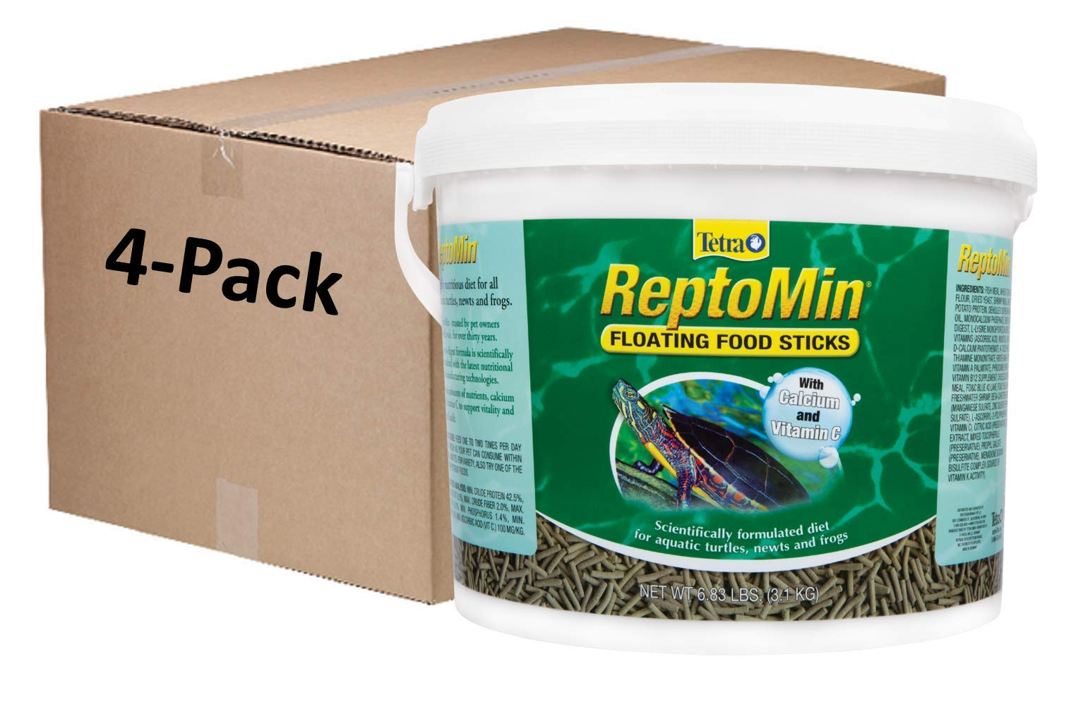 Tetra Reptomin Floating Food Sticks For Reptiles, 27.32 Lbs by Tetra