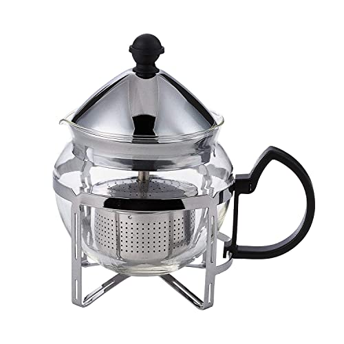 Service Ideas T600CC Press Coffee Tea 4 Cup Chrome