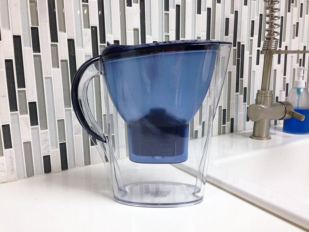 Using an alkaline water filter