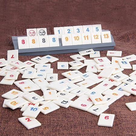 Depruies – Juego de Mesa número Mahjong Digital Rompecabezas Juego de Cartas Mahjong Viaje Familiar versión Classic: Amazon.es: Hogar
