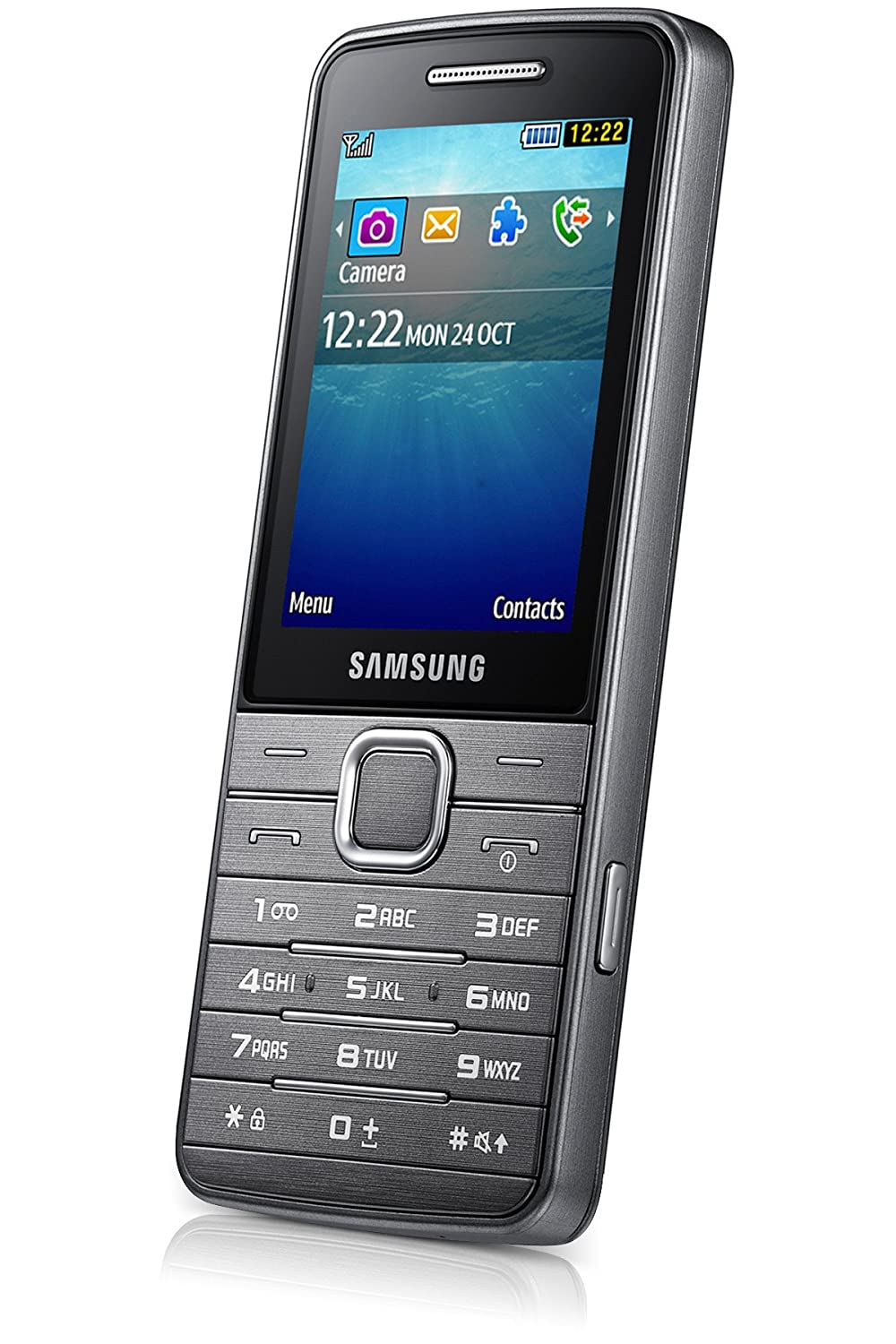 info for dee6c 3280f Samsung Primo GT-S5610 (Metallic Silver): Amazon.in: Electronics