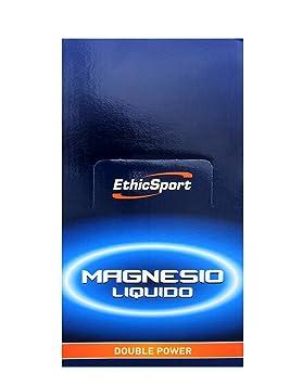 ETHICSPORT - MAGNESIO LIQUIDO - 40 sobres de 25ml - -: Amazon.es: Salud y cuidado personal
