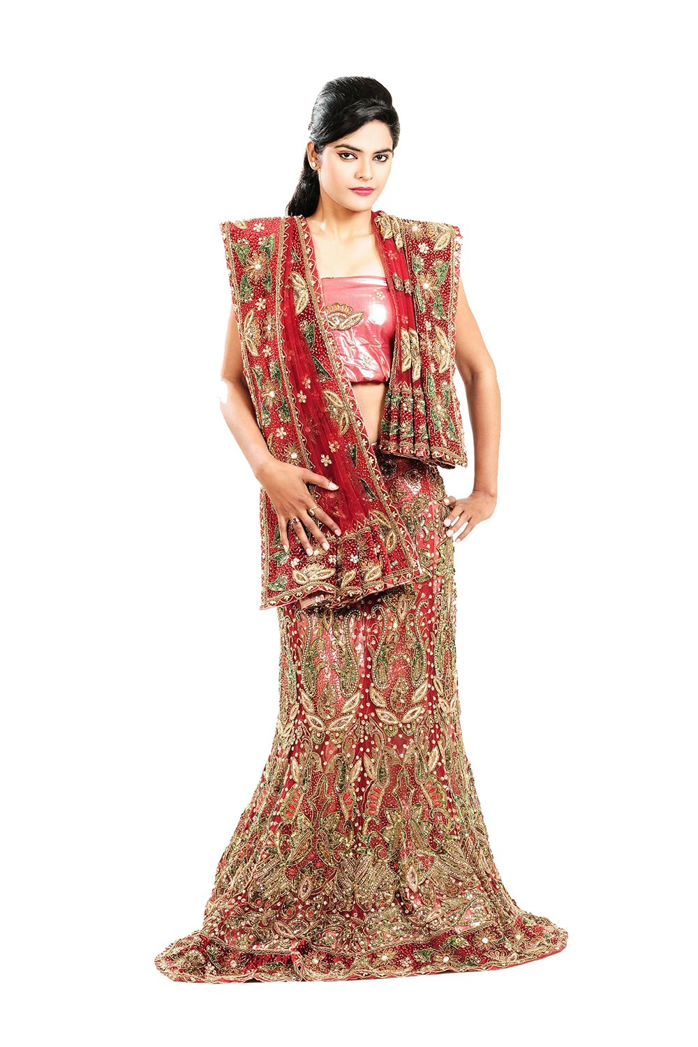Aashima Fab Store Indian Lehenga Choli For Women Party Wear Red Designer Traditional