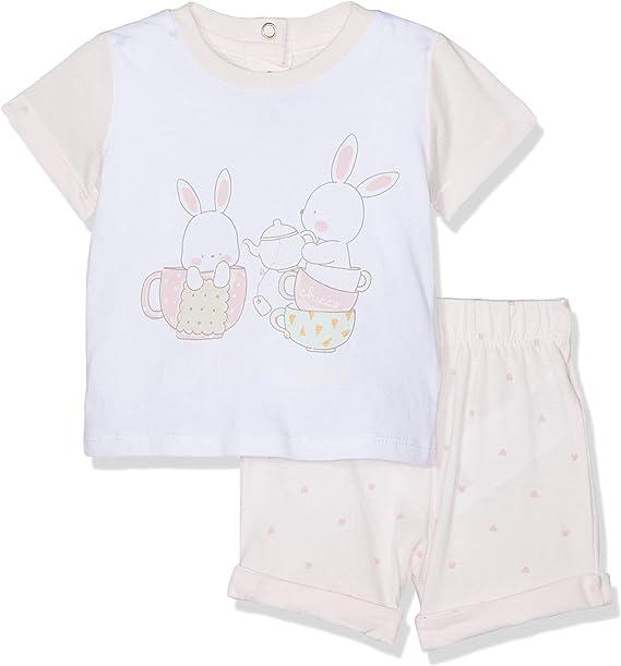 Chicco Completo T-Shirt Manica Corta Leggings Completino Bambina