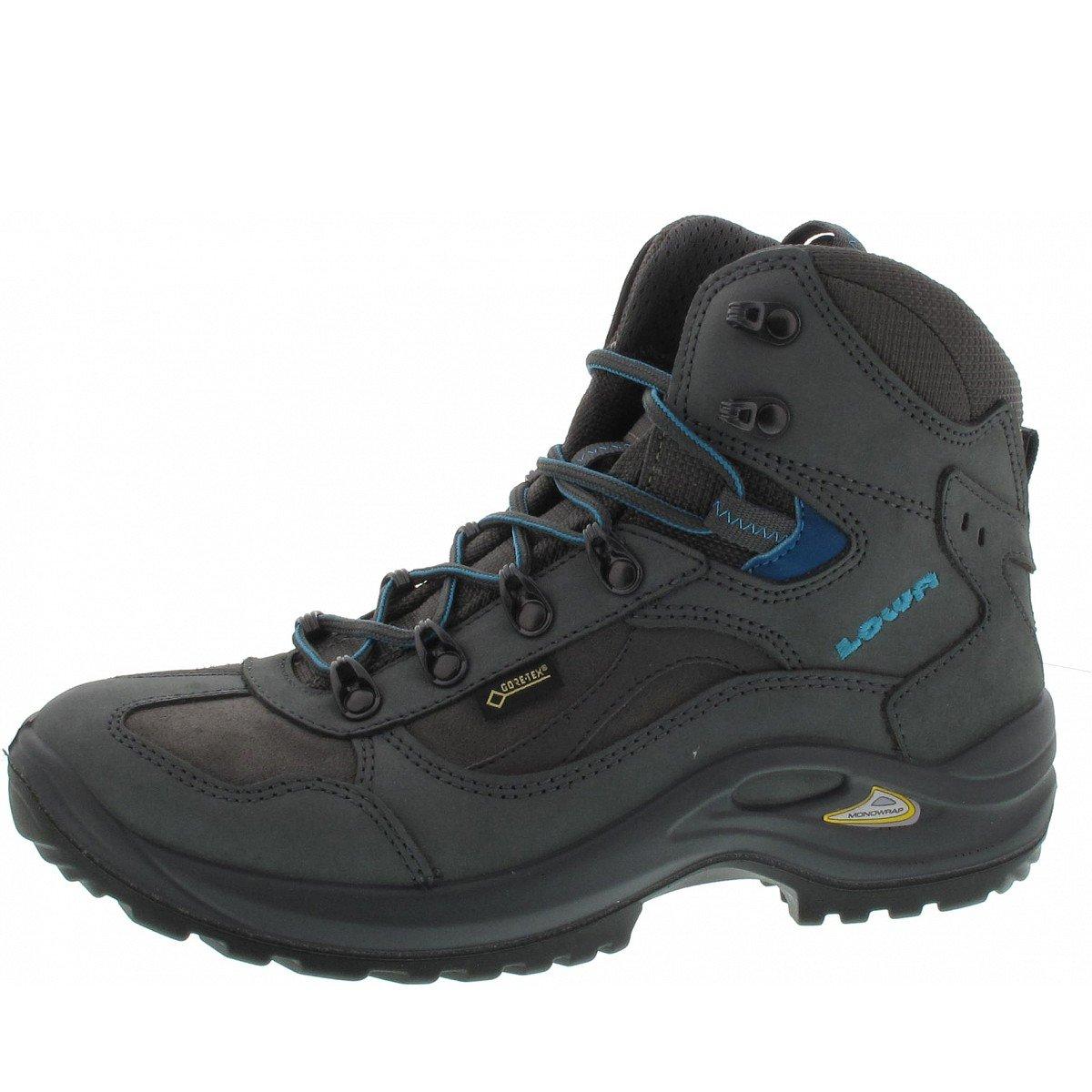 Niedriga Damen Trekking-Schuh Stratton Terrain DLX GTX Mid Ws All Terrain Stratton grau / türkis d7b63f