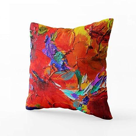 Amazon.com: Musesh - Funda de cojín para sofá, decoración ...