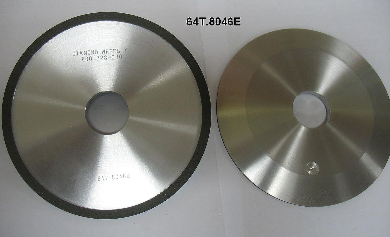 "6"" Type 4A2 Diamond Grinding Facing Wheel 400 Grit for Carbide Circle Saws"