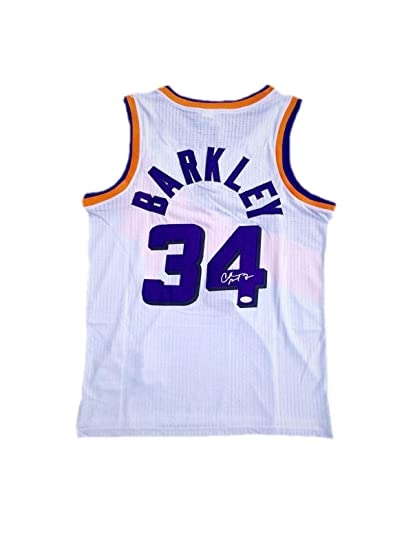 25641116 Signed Charles Barkley Jersey - Home - JSA Certified - Autographed NBA  Jerseys
