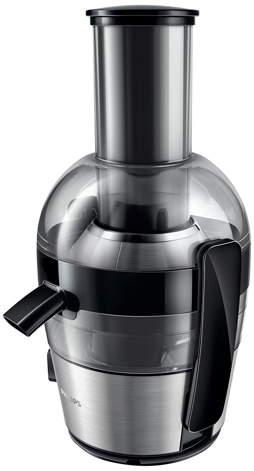 Philips HR1855/01 Viva Collection Juicer, 2 Litre, 700 Watt - Black [Energy Class A+] 6635890