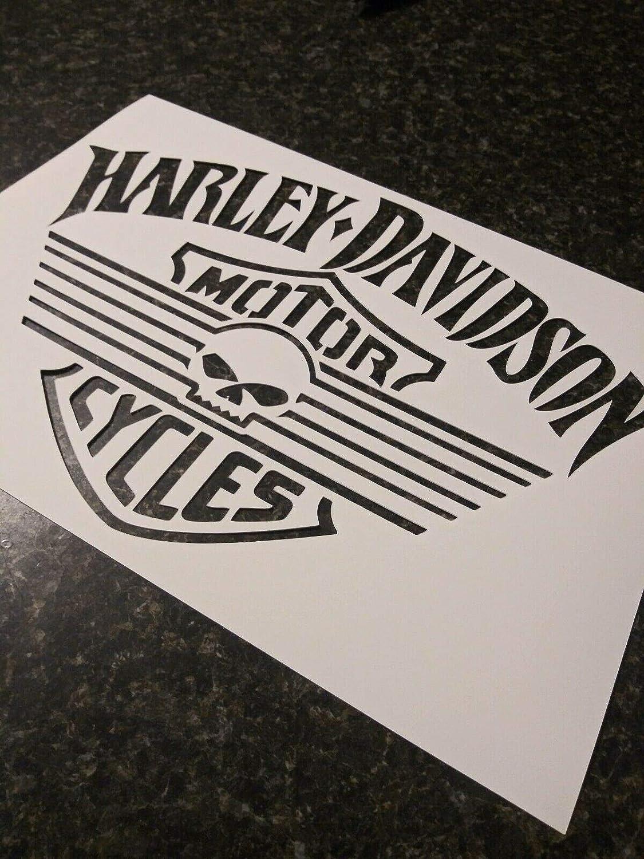 Harley Davison stencils various sizes