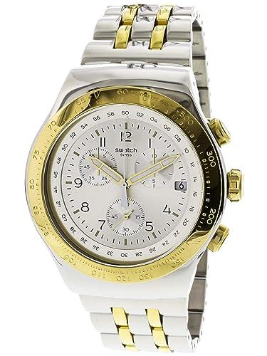 Amazon.com: Swatch para hombre Live My Time yos458g moda ...