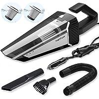 $29 » Hantun Car Vacuum, High Power DC 12V 5000PA Strong Suction Portable Handheld Car Vacuum…