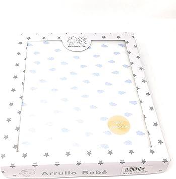 Manta/Arrullo 100% algodón de doble capa (una cara lisa y la otra rizada) para bebé - Danielstore: Amazon.es: Bebé