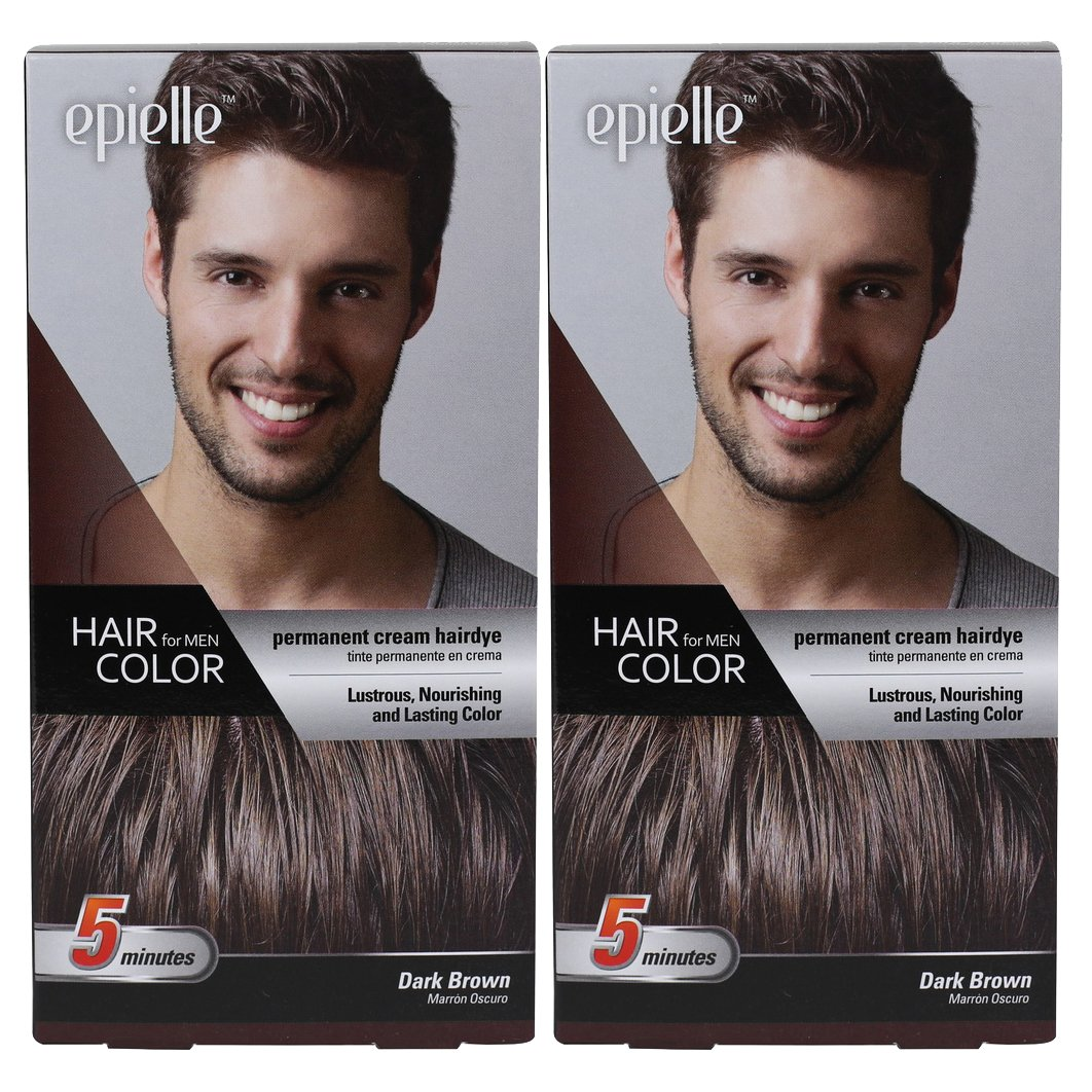 Amazon Kareway Epielle Hair Color For Men Dark Brown Pack Of