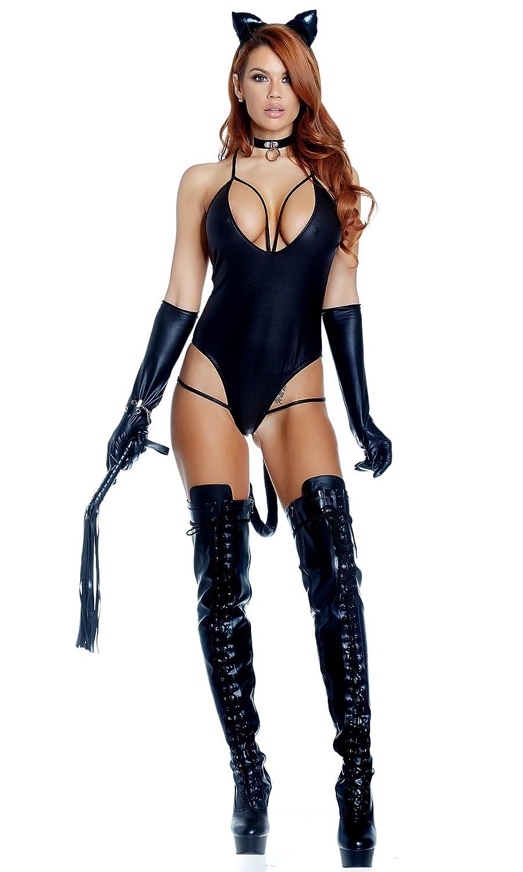 0780dc23174 Amazon.com  Untamed Sexy Cat Costume  Clothing