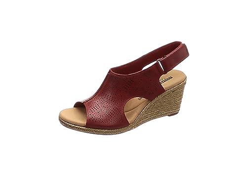 64e272d82a0 Clarks Women's Lafley Rosen Sling Back Sandals