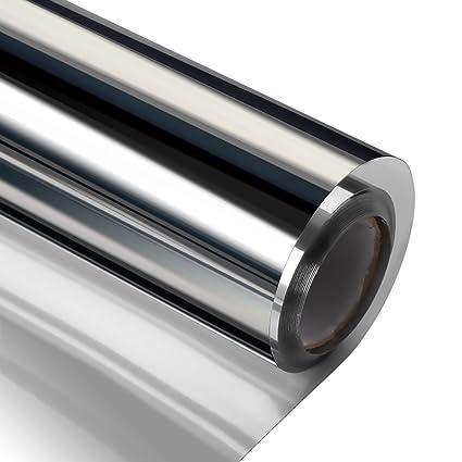 amazon com home interiors mirrors film heat block no glue privacy