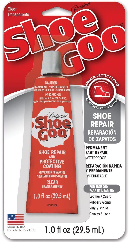 Shoe GOO 110232 10 Pack 1-Ounce Shoe Goo Repair & Coating, Clear