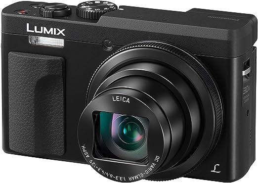 Panasonic Lumix DC-TZ90EG-K Cámara Compacta de 20,3 MP (Super Zoom ...
