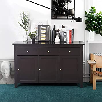 Console Sideboard Table HOMEMAKE Mordern Buffet Cabinet Server