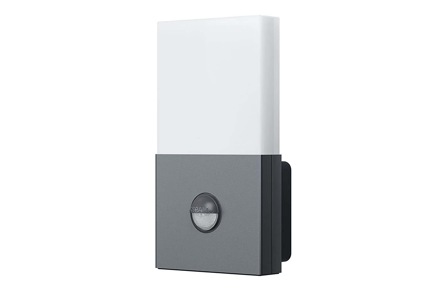 Osram 73280 Noxlite Wall - Lámpara doble de pared LED para exterior, con sensor de movimiento y claridad (2 bombillas, 6 W): Amazon.es: Iluminación