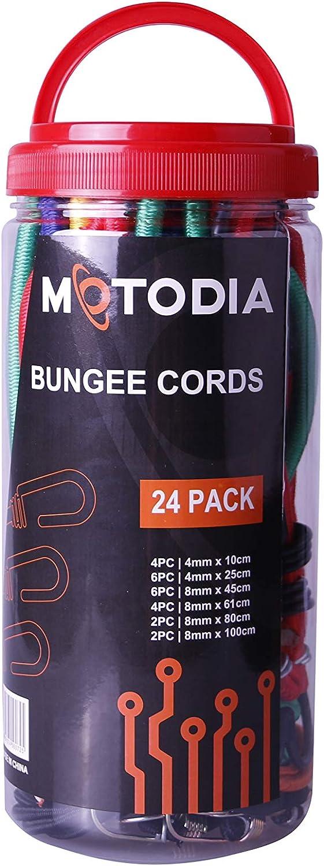MotoDia Bungee Cords 16 pc Set