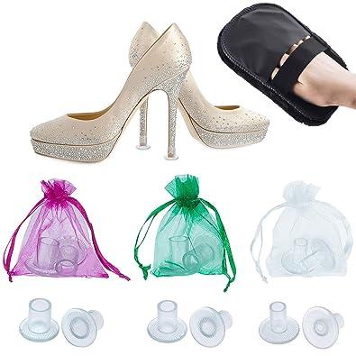 15af32b6e62 High Heel Protectors by MEGON - Heels Stopper for Women s Shoes