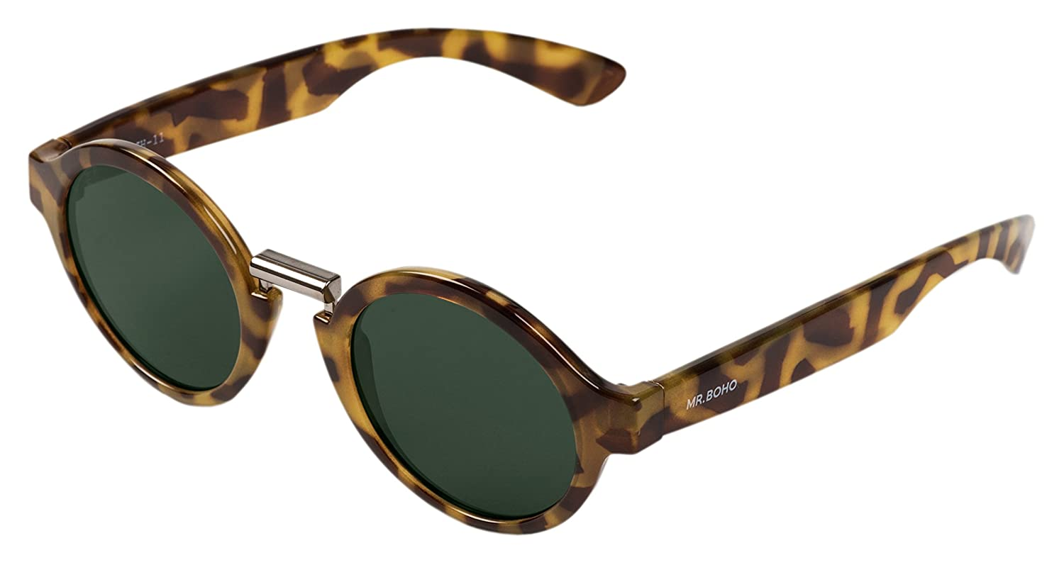 MR.BOHO, High-Contrast tortoise hackney with classical ...