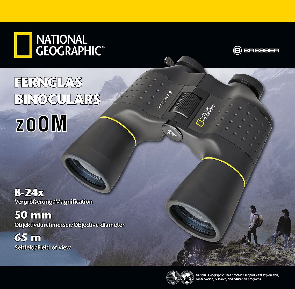 National Geographic 8-24x50 Porro