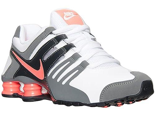 quality design 1ba3a 8ba27 Women's Nike Shox Current Running Shoes White/Bright Mango ...