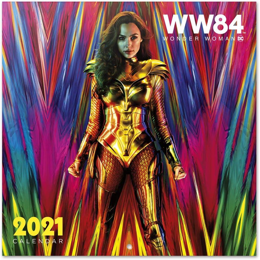 Erik Wandkalender DC Comics Wonder Woman Kalender 2021
