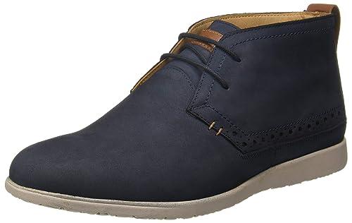 023f90c40180 Hush Puppies Men s Zero G Nu Buck Boots Blue Leather Boots-10 UK India