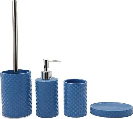 bicchiere portasapone Arancione set di accessori da bagno Baodanh bottiglie set di accessori da bagno in plastica portaspazzolino da denti