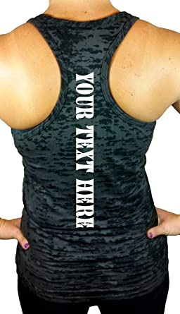 Womens Custom Tank Top Workout Racerback Design & Personalize Your own Tank  top Shirt