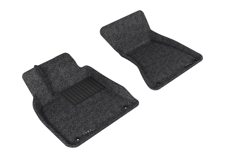 3D MAXpider L1AD00902209 Custom Fit Classic Series Floor Mats Black Complete Set For Audi Q5 Models