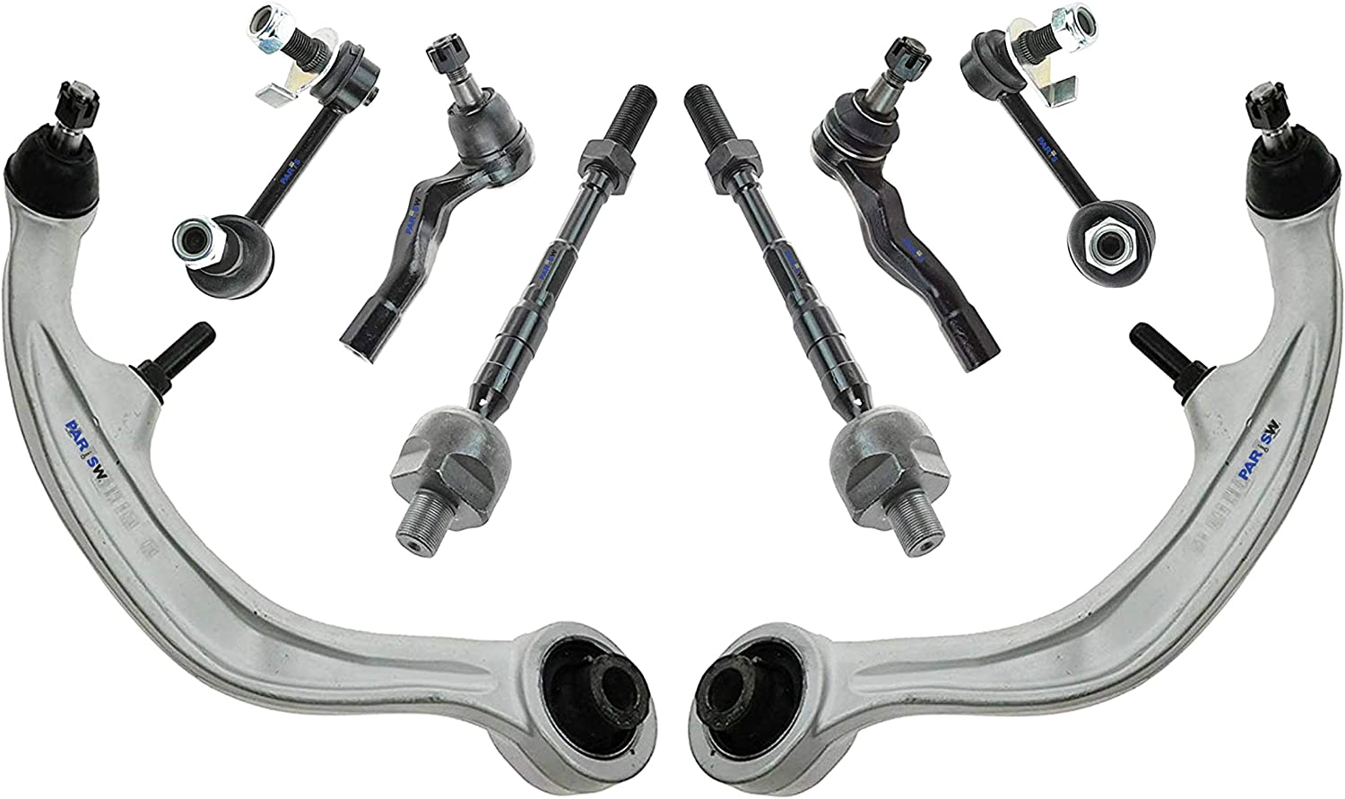 Ball Joint For 2003-2008 Infiniti G35 Front Lower Left /& Right Side Set of 2