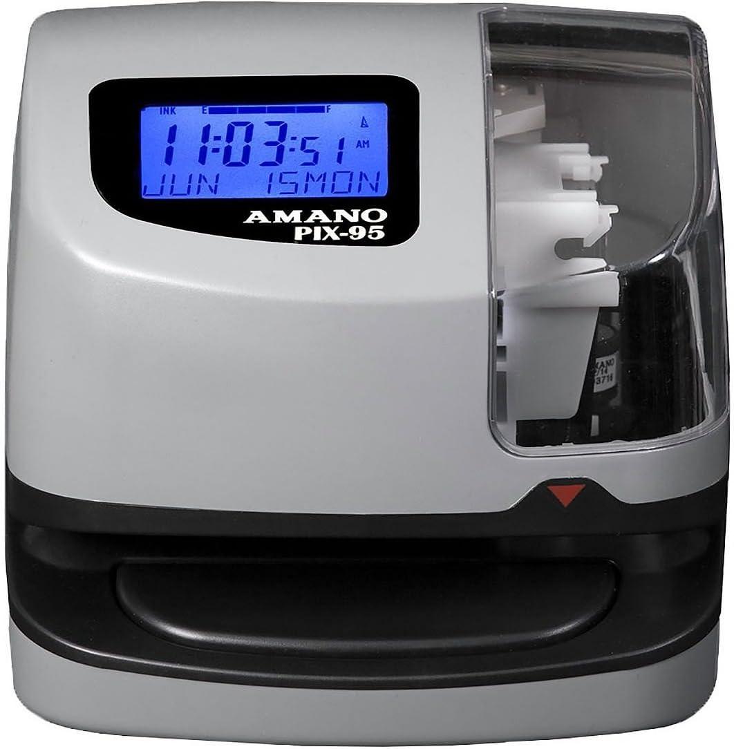 Amano PIX-95 Electronic Time Clock : Electronics