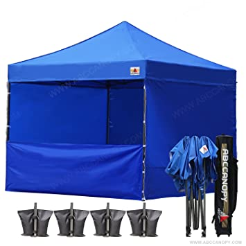 (18+ colors)ABCCANOPY Commercial 10x10 Instant Canopy Craft Display Tent with Wheeled Carry  sc 1 st  Amazon.com & Amazon.com : (18+ colors)ABCCANOPY Commercial 10x10 Instant Canopy ...
