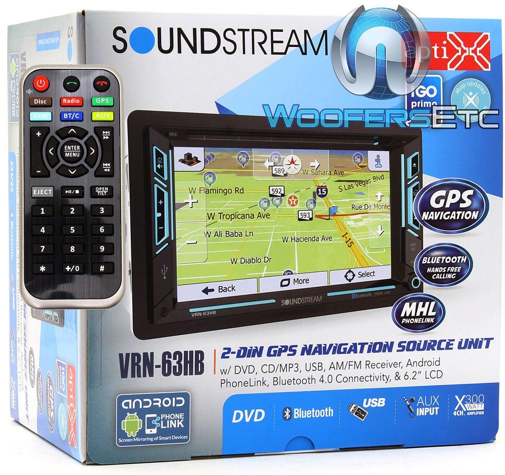 6.2 Soundstream VRN‐63HB in Dash Media