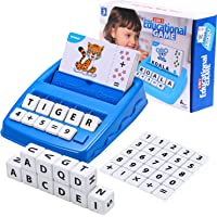 Toys for 3-8 Year Olds Boys Girls Matching Letter Game Educational Games Toys for Kids Ages 3-8 Birthday Gifts for 5-7…