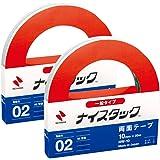ニチバン 両面テープ ナイスタック 一般タイプ 2巻入 10mm×20m NW-10AZ2P