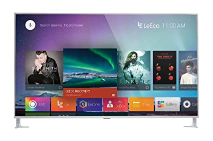 amazon com leeco l654ucnn 65 inch 4k ultra hd smart led tv silver